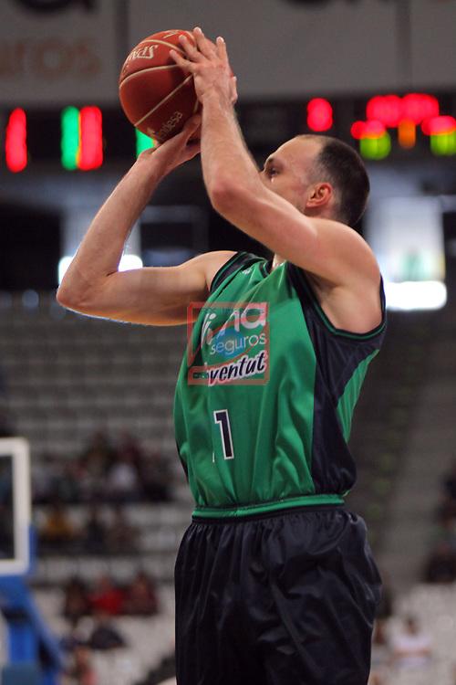 League ACB-ENDESA 2016/2017. Game: 28.<br /> Divina Seguros Joventut vs Herbalife Gran Canaria: 86-72.<br /> Luka Bogdanovic.