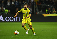 Cesar Azpilicueta (Chelsea FC) - 02.05.2019: Eintracht Frankfurt vs. Chelsea FC London, UEFA Europa League, Halbfinale Hinspiel, Commerzbank Arena DISCLAIMER: DFL regulations prohibit any use of photographs as image sequences and/or quasi-video.