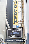 'The Gin Game' - Theatre Marquee