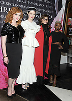 NEW YORK, NY - NOVEMBER 08: Christina Hendricks, Coco Rocha, Gina Gershon and Cynthia Erivo attend the release of Christian Siriano's  book 'Dresses To Dream About' at the Rizzoli Flagship Store on November 8, 2017 in New York City.  <br /> CAP/MPI/JP<br /> &copy;JP/MPI/Capital Pictures