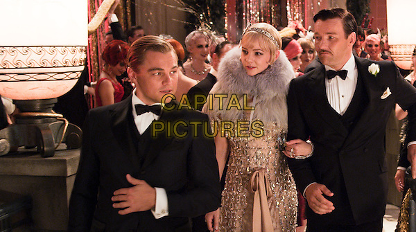 LEONARDO DICAPRIO, CAREY MULLIGAN & JOEL EDGERTON.in The Great Gatsby (2013) .*Filmstill - Editorial Use Only*.CAP/NFS.Supplied by Capital Pictures.