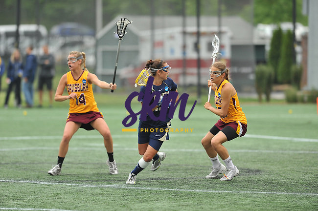 Salisbury clinched the NCAA Div III Women's Lacrosse Championship as they defeated Trinity College 12-5 Sunday afternoon at Mustang Stadium in Owings Mills.