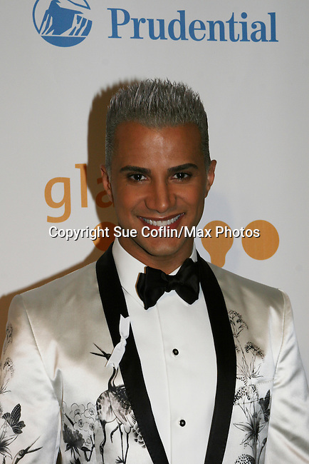 Jay Manuel - America's Next Top Model at the 20th Annual GLAAD Media Awards on March 28, 2009 at the New York Marriott, New York City, NY. (Photo by Sue Coflin/Max Photos)