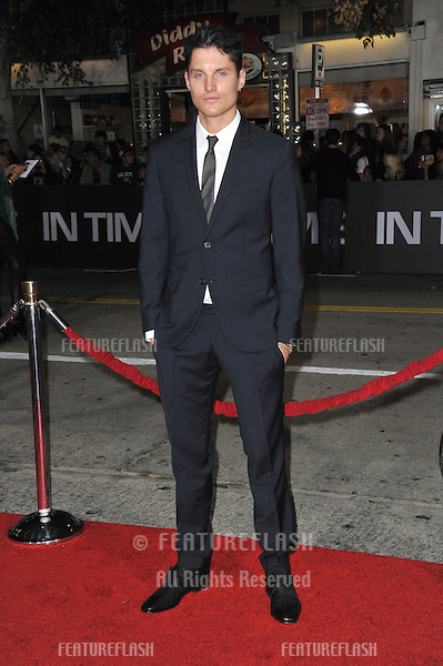 """Toby Hemingway at the Los Angeles premiere of hs new movie """"In Time"""" at the Regency Village Theatre, Westwood..October 20, 2011  Los Angeles, CA.Picture: Paul Smith / Featureflash"""