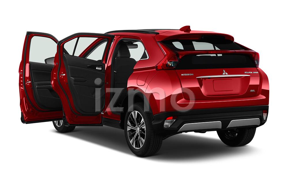 Car images close up view of a 2019 Mitsubishi Eclipse-Cross SEL 5 Door SUV doors