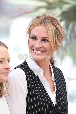 Julia Roberts at 'Money Men' photocall during the 69th International Cannes Film Festival, France<br /> May 12, 2016<br /> CAP/GOL<br /> &copy;GOL/Capital Pictures /MediaPunch ***NORTH AMERICA AND SOUTH AMERICA ONLY***