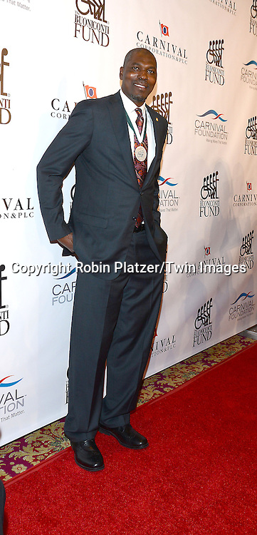 Hakeem Olajuwon attends The Buoniconti Fund to Cure Paralysis 29th Annual Gala Sport's Legends Dinner on September 29,2014 at the Waldorf Astoria Hotel  in New York City. <br /> <br /> photo by Robin Platzer/Twin Images<br />  <br /> phone number 212-935-0770