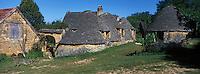Europe/France/Aquitaine/24/Dordogne/Environ de Sarlat-la-Caneda/Saint-André-d'Allas : Les cabanes du Breuil