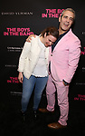 Lena Dunham and Andy Cohen attends 'The Boys in the Band' 50th Anniversary Celebration at The Booth Theatre on May 30, 2018 in New York City.