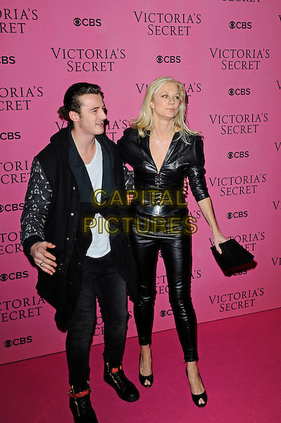 LONDON, ENGLAND - DECEMBER 2: Joely Richardson attends the pink carpet for Victoria's Secret Fashion Show 2014, Earls Court on December 2, 2014 in London, England.<br /> CAP/MAR<br /> &copy; Martin Harris/Capital Pictures