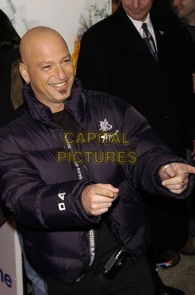 """HOWIE MANDEL.Premiere of Sony Pictures """"Reign Over Me"""" Skirball Center at NYU, 566 La Guardia Place, New York, New York, USA..March 20th, 2007.half length black jacket hands pointing soul patch facial hair .CAP/ADM/BL.©Bill Lyons/AdMedia/Capital Pictures *** Local Caption ***"""