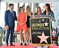 LOS ANGELES, CA. October 24, 2019: Harry Connick Jr., Sarah Kate Connick, Georgia Connick, Jill Goodacre & Charlotte Connick at the Hollywood Walk of Fame Star Ceremony honoring Harry Connick Jr.<br /> Pictures: Paul Smith/Featureflash