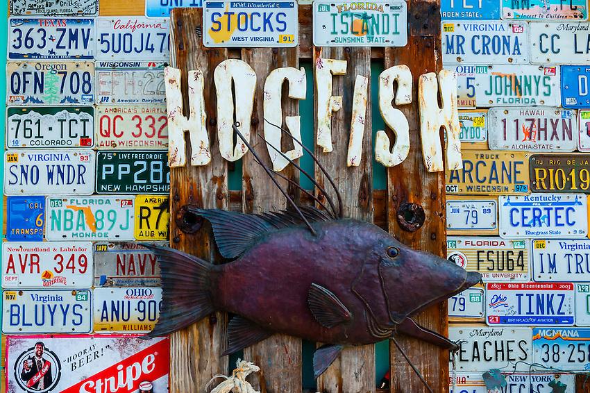 Hogfish Bar & Grill, Stock Island, Key West, Florida Keys, Florida USA