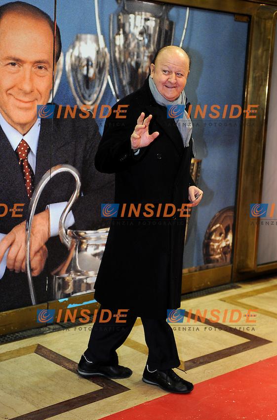 Massimo BOLDI<br /> Milano, 13/03/2011 Teatro Manzoni<br /> 25&deg; anniversario di presidenza Berlusconi al Milan<br /> Campionato Italiano Serie A 2010/2011<br /> Foto Nicolo' Zangirolami Insidefoto