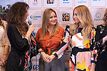 Singers Patricia Sosa (L) and Marta Sanchez (R) during the press conference and rehearsal of Festival Unicos. September 22, 2019. (ALTERPHOTOS/Johana Hernandez)