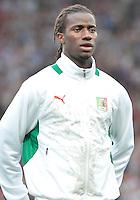 July 26, 2012..Senegal's Ibrahima Balde (12). Great Britain vs Senegal Football match during 2012 Olympic Games at Old Trafford in Manchester, England. Senegal held Great Britain to a 1-1 draw...(Credit Image: © Mo Khursheed/TFV Media)