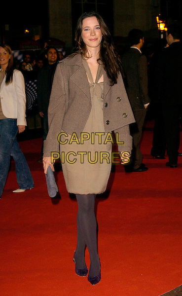 "JOSEFINA GABRIELLE.""The Prestige"" UK film premiere.Odeon West End cinema, Leicester Square.5th November 2006 London, England.Ref: CAN.full length brown green jacket coat.www.capitalpictures.com.sales@capitalpictures.com.©Phil Loftus/Capital Pictures"