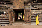 barn, Wind River Ranch, American west, west, ranch, near Estes Park, Colorado, USA,