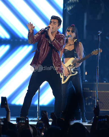 MIAMI, FL - JUNE 11: DNCE performs at the AmericanAirlines Arena on June 11, 2016 in Miami Florida. Credit: mpi04/MediaPunch