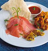 Sashimi de thon jaune