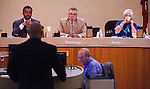 Antioch City Council met on Tuesday, January 13, 2015 in Antioch, California with a full agenda of presentations, speakers, and staff reports.  On the agenda was a review of city staff's report of the feral cat feeding ban.  Photo/Victoria Sheridan