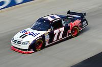 Sept. 19, 2008; Dover, DE, USA; Nascar Sprint Cup Series driver Sam Hornish Jr during practice for the Camping World RV 400 at Dover International Speedway. Mandatory Credit: Mark J. Rebilas-