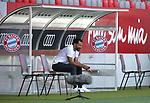 Hasan Salihamidzic , Sportdirektor von FC Bayern Muenchen<br /><br />Testspiel Audi Football Summit FC Bayern Muenchen - Olympique Marseille  auf dem FC Bayern Campus<br />Saisonvorbereitung  2020 / 2021  <br /><br />Foto : Stefan Matzke / sampics / Pool via nordphoto / Bratic<br /><br />Nur für journalistische Zwecke ! Only for editorial use !<br /><br />DFL regulations prohibit any use of photographs as image sequences and/or quasi-video