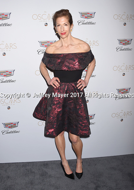 LOS ANGELES, CA - FEBRUARY 23: Actress Alysia Reiner attends Cadillac's 89th annual Academy Awards celebration at Chateau Marmont on February 23, 2017 in Los Angeles, California.