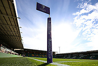 A general view of Franklin's Gardens, home of Northampton Saints<br /> <br /> Photographer Stephen White/CameraSport<br /> <br /> European Rugby Challenge Cup - Northampton Saints v Clermont Auvergne - Saturday 13th October 2018 - Franklin's Gardens - Northampton<br /> <br /> World Copyright © 2018 CameraSport. All rights reserved. 43 Linden Ave. Countesthorpe. Leicester. England. LE8 5PG - Tel: +44 (0) 116 277 4147 - admin@camerasport.com - www.camerasport.com