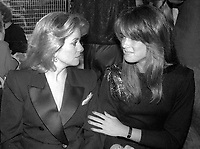 Catherine Deneuve and Brooke Shields 1981<br /> Photo By Adam Scull/PHOTOlink.net