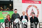 Staff of Spar Stpore, Market St. Listowel. L-R Elaine O'Mahony, Martin Hobbart, Gillian Morris, Manager & Aofe Duggan.