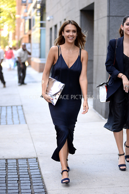 WWW.ACEPIXS.COM<br /> June 14, 2016 New York City<br /> <br /> Jessica Alba took a walk on the High Line in New York City on June 14, 2016.<br /> <br /> Credit: Kristin Callahan/ACE Pictures<br /> <br /> tel: 646 769 0430<br /> Email: info@acepixs.com<br /> www.acepixs.com