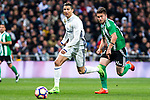 Cristiano Ronaldo of Real Madrid during the match of Spanish La Liga between Real Madrid and Real Betis at  Santiago Bernabeu Stadium in Madrid, Spain. March 12, 2017. (ALTERPHOTOS / Rodrigo Jimenez)