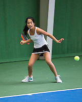 01-12-13,Netherlands, Almere,  National Tennis Center, Tennis, Winter Youth Circuit, Lian Tran  <br /> Photo: Henk Koster