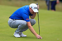 Richard McEvoy (ENG) on the 10th during Round 2 of the Aberdeen Standard Investments Scottish Open 2019 at The Renaissance Club, North Berwick, Scotland on Friday 12th July 2019.<br /> Picture:  Thos Caffrey / Golffile<br /> <br /> All photos usage must carry mandatory copyright credit (© Golffile | Thos Caffrey)