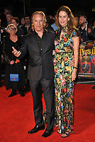 """LONDON, ENGLAND - OCTOBER 08: Don Johnson and Kelley Phleger at the BFI London Film Festival """"Knives Out"""" American Express gala, Odeon Luxe Leicester Square, Leicester Square on Tuesday 08 October 2019 in London, England, UK. <br /> CAP/CAN<br /> ©CAN/Capital Pictures"""