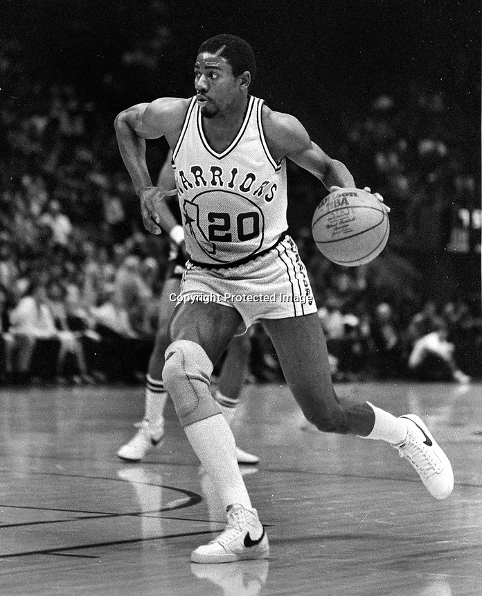Golden State Warriors Pace Mannion...(1983 photo/Ron Riesterer)
