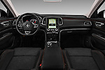Stock photo of straight dashboard view of 2016 Renault Talisman Intens 4 Door Sedan Dashboard