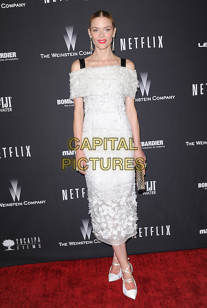 Jaime King attends THE WEINSTEIN COMPANY &amp; NETFLIX 2014 GOLDEN GLOBES AFTER-PARTY held at The Beverly Hilton Hotel in Beverly Hills, California on January 12,2014                                                                               <br /> CAP/DVS<br /> &copy;DVS/Capital Pictures