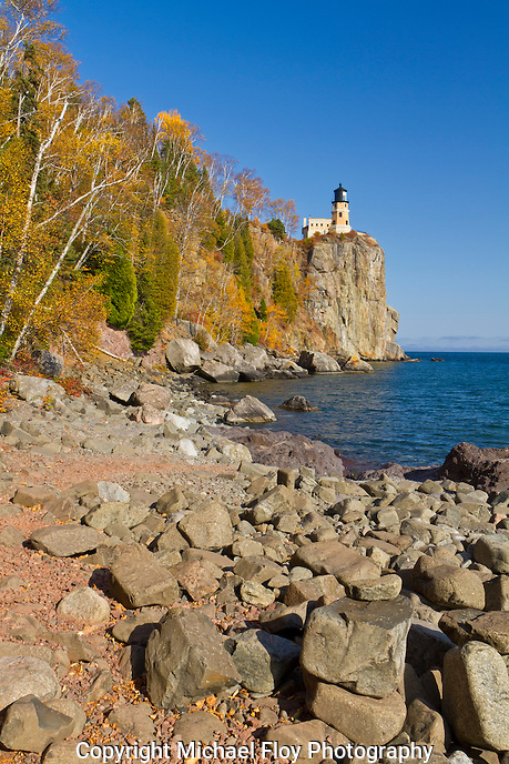 Split Rock Lighthouse Fall Colors
