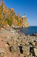 Split Rock Lighthouse Fall Colors
