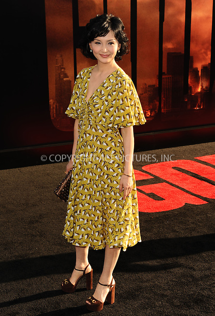 ACEPIXS.COM<br /> <br /> May 8 2014, LA<br /> <br /> Kaho Minami arriving at the Los Angeles premiere of 'Godzilla' at Dolby Theatre on May 8, 2014 in Hollywood, California. <br /> <br /> By Line: Peter West/ACE Pictures<br /> <br /> ACE Pictures, Inc.<br /> www.acepixs.com<br /> Email: info@acepixs.com<br /> Tel: 646 769 0430