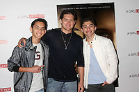 """LOS ANGELES - MAR 27:  Ochoa Boyz at the """"A Girl Like Her"""" Screening at the ArcLight Hollywood Theaters on March 27, 2015 in Los Angeles, CA"""