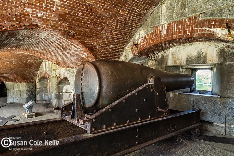 Fort Williams in Bucksport, Maine, USA