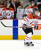 Cody Goloubef (Canada - 17) - Team Canada defeated the Czech Republic 8-1 on the evening of Friday, December 26, 2008, at Scotiabank Place in Kanata (Ottawa), Ontario during the 2009 World Juniors U20 Championship.