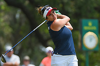 Gerina Piller (USA) watches her tee shot on 1 during round 4 of the 2019 US Women's Open, Charleston Country Club, Charleston, South Carolina,  USA. 6/2/2019.<br /> Picture: Golffile | Ken Murray<br /> <br /> All photo usage must carry mandatory copyright credit (© Golffile | Ken Murray)