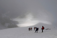 Climbing Mt Hood in Oregon .(Photos by Anacleto Rapping ©2004)