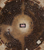 Palebearers carry the casket of Former President George H. W. Bush into the U.S. Capitol Rotunda Monday, Dec. 3, 2018, in Washington. <br /> CAP/MPI/RS<br /> &copy;RS/MPI/Capital Pictures