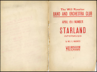BNPS.co.uk (01202 558833)<br /> Picture: HAldridge/BNPS<br /> <br /> ****Please use full byline****<br /> <br /> The sheet music belonging to Wallace Hartley.<br /> <br /> The violin played by the bandmaster on the Titanic as the ship was sinking is finally being auctioned for an estimated &pound;400,000.<br /> <br /> The wooden instrument has been proven to be the one used by Wallace Hartley as his band famously played on to help keep the passengers calm during the disaster.<br /> <br /> Its existence and survival only emerged in 2006 when the son of an amateur violinist who was gifted it by her music teacher in the early 1940s contacted an auctioneers.