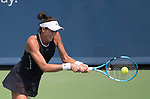 August  19, 2017:  Garbine Muguruza (ESP) defeated Karolina Pliskova (CZE) 6-3, 6-2, in the semifinals at the Western & Southern Open being played at Lindner Family Tennis Center in Mason, Ohio. ©Leslie Billman/Tennisclix/CSM